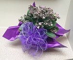 Purple Wired Tulle with Silver Edge (3